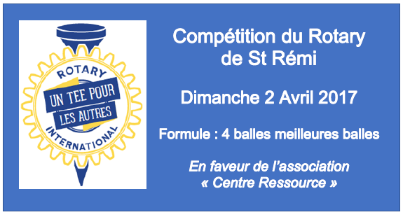competition rotary St Remy